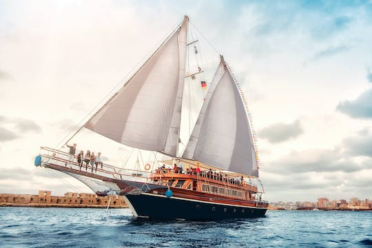 Pirates sailing boat trip from Hurghada
