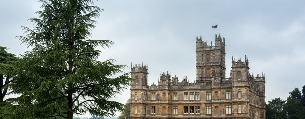 Highclere Castle and Downton Abbey film locations day tour from Southampton