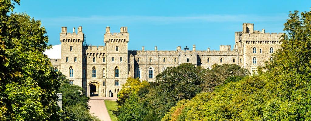 Transfert privé de Southampton à Londres via le château de Windsor et Stonehenge