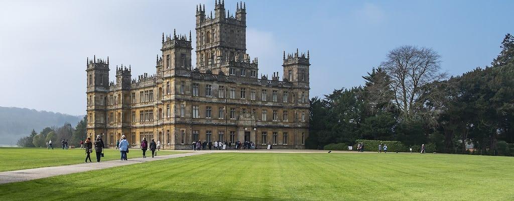 Transfert privé de Southampton à Londres via les lieux de tournage du château de Highclere et de Downton Abbey