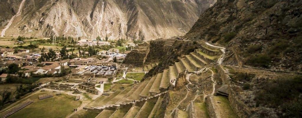 Tour de día completo al Valle Sagrado desde Cusco: Ollantaytambo, Chinchero y Museo de Yucay con almuerzo