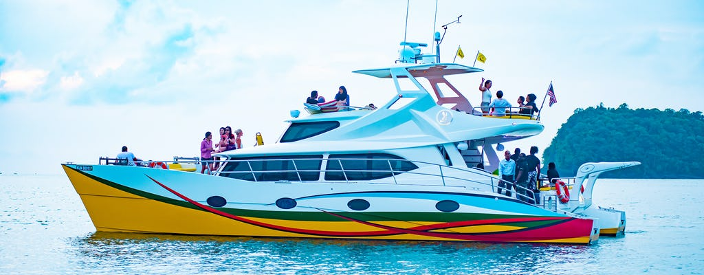 Sunset cruise from Paradise 101 in Langkawi