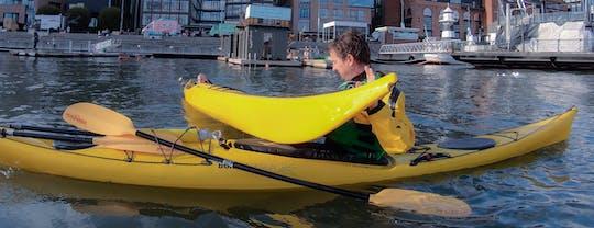 Kayak rolling course in Lysaker