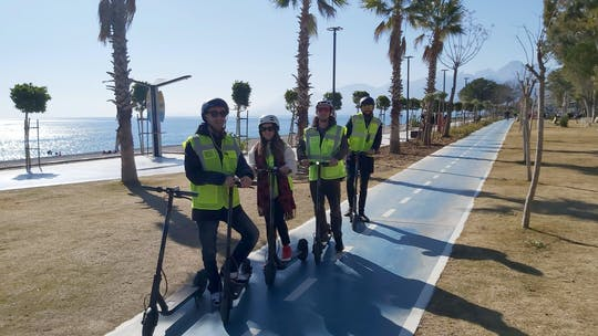 Antalya – Halbtägiger Ausflug mit dem E-Scooter