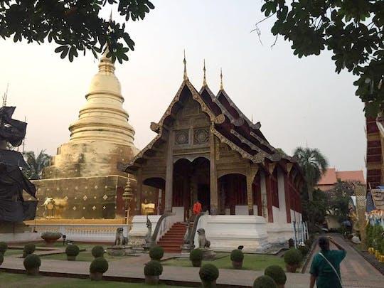 Visite en petit groupe du temple de Chiang Mai