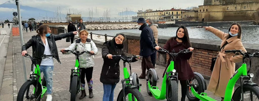 Recorrido en scooter eléctrico por Nápoles con degustaciones de comida