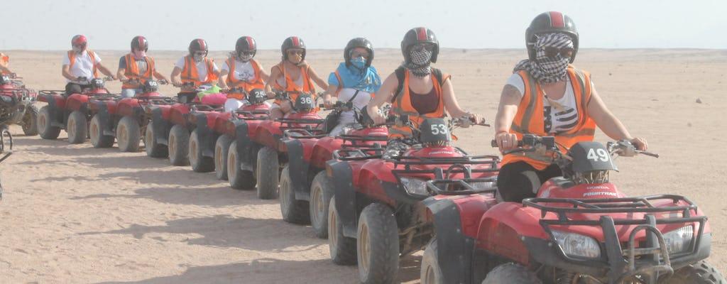 Desert safari quad bike tour