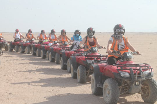 Desert safari quad bike tour