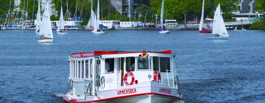 Alster tour on the water in Hamburg