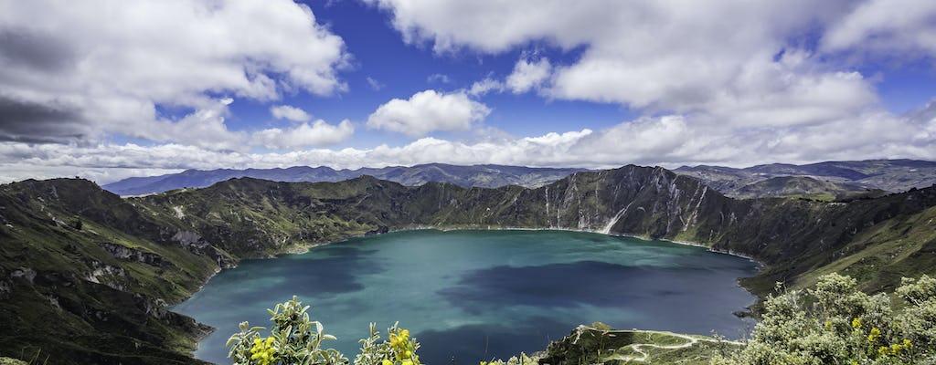 Excursão de dia inteiro aos vulcões Quilotoa e Cotopaxi com traslados