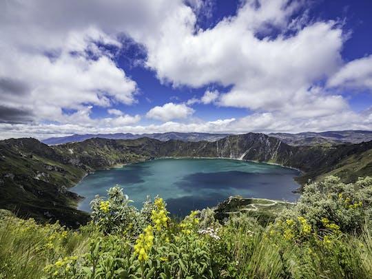 Excursion d'une journée aux volcans Quilotoa et Cotopaxi avec transferts