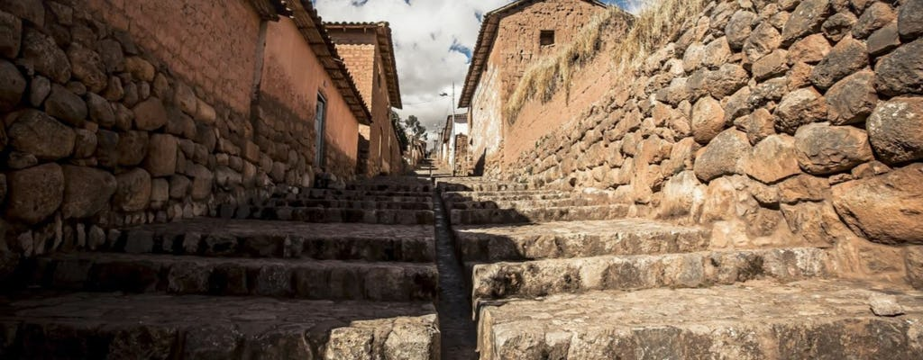 Vale Sagrado: Chinchero, Maras, Moray, Ollantaytambo, tour privado pelo Mercado Pisac