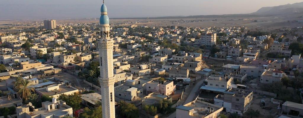 Jericó, el río Jordán y el mar Muerto desde Jerusalén