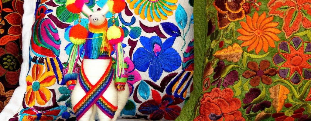 Passeio de meio dia pelo mercado de Otavalo com traslados