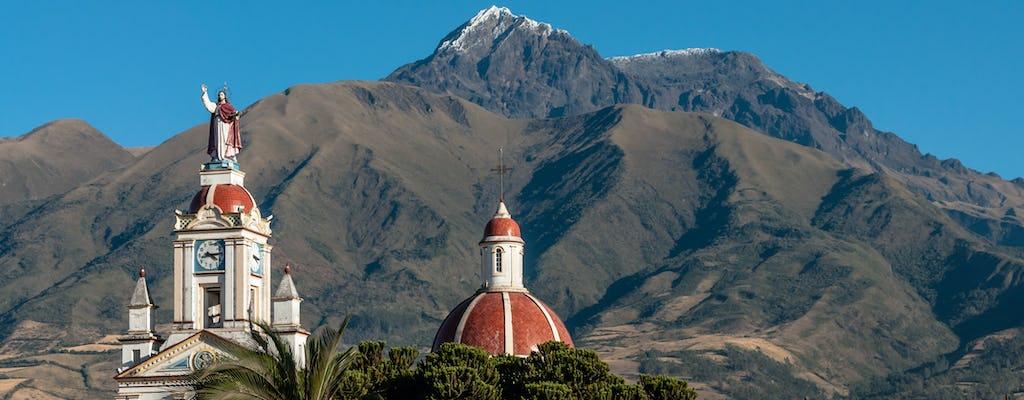 Passeio de dia inteiro pelo mercado de Cotacachi, Cuicocha e Otavalo