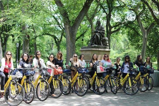 Tour privado guiado en bicicleta por Central Park