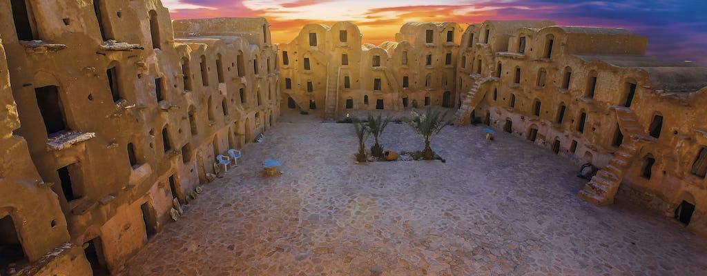 Excursion sur deux jour des villages du Sahara tunisien et une oasis