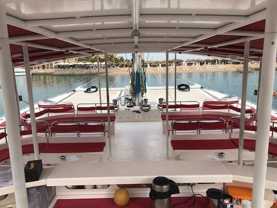 Half-day catamaran sailing trip from Hurghada