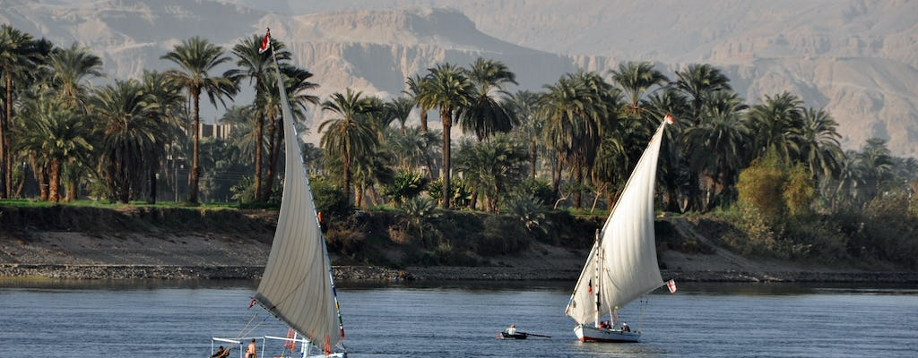 Discover Dendera, Karnak temples and the Nile from Hurghada