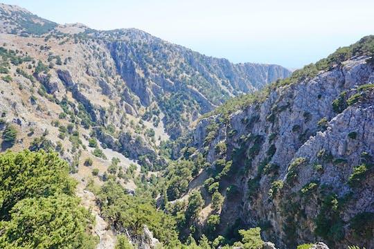 Wąwóz Imbros - z Rethymnonu