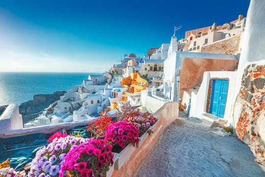 Platinum morning cruise in Santorini