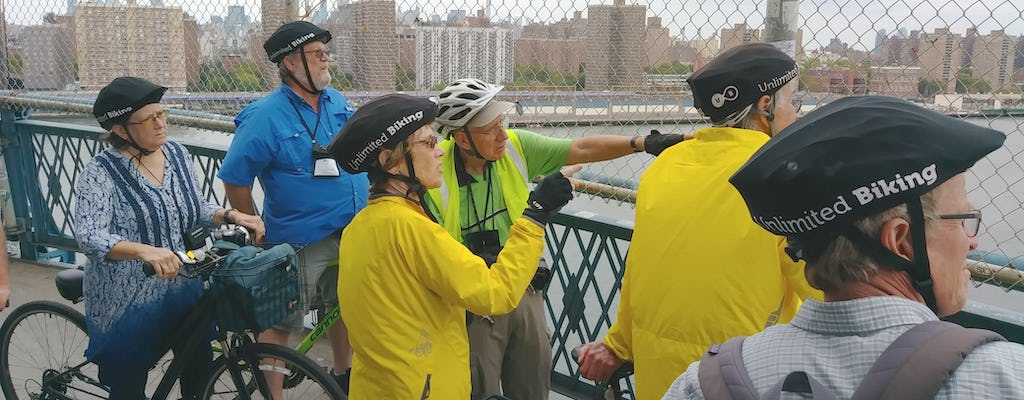 NYC melting pot guided bike tour