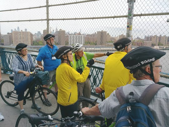 Tour guidato in bicicletta del melting pot di New York