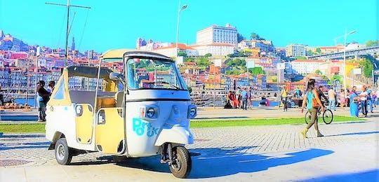 All around Porto half-day tuk-tuk tour