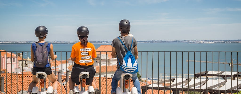 Lisbon's viewpoints Sitway and tuk-tuk tour