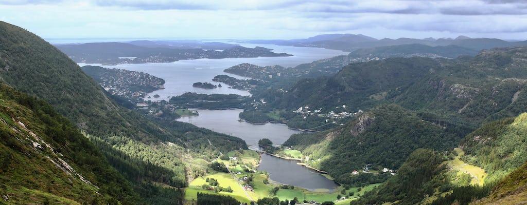 Prywatna wędrówka klasycznym szlakiem Vidden w Bergen