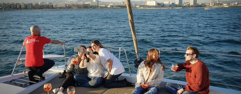 Privélunch of dinerervaring op een catamaran