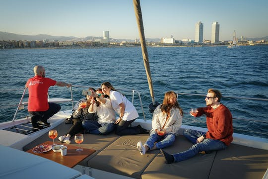Private lunch or dinner experience on a catamaran