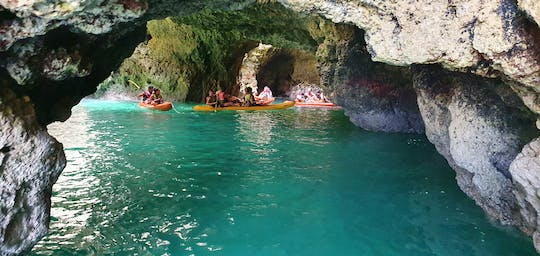 Kayak adventure in Ponta da Piedade