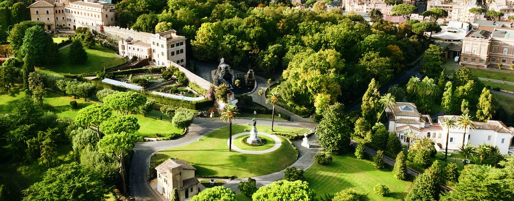 Vatican Gardens guided tour with Vatican Museums tickets