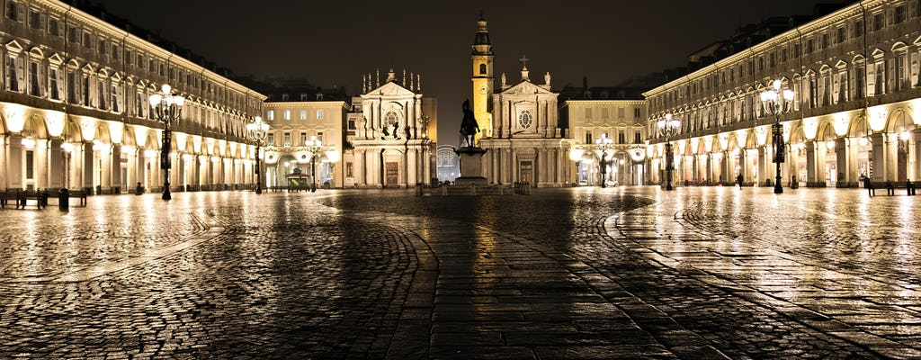Magical mystery tour of Turin by night