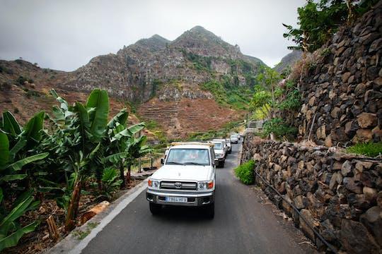 Safari jeepem z napędem 4x4 po wyspie La Gomera