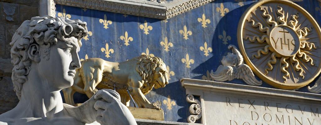 Visita guiada à Galleria dell'Accademia em Florença e city tour em ônibus aberto