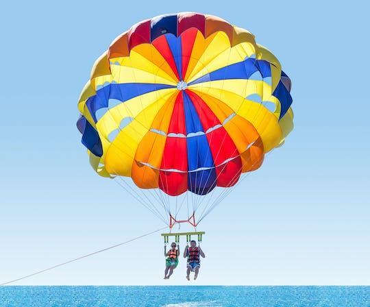 Bateau à réaction express et combo parachute ascensionnel de 10 minutes pour 2 personnes