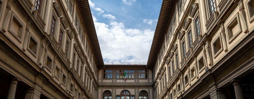 Visita guiada à Galeria Uffizi e tour de ônibus aberto em Florença