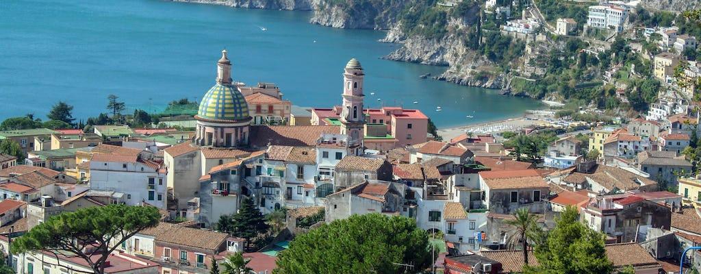 Visita guidata di Vietri e Cetara da Salerno con brunch e degustazione di vini