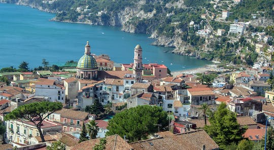 Vietri and Cetara guided tour from Salerno with brunch and wine tasting