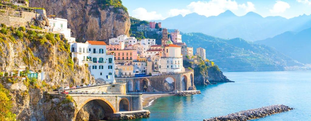 Ravello, Amalfi und Positano Ganztagestour ab Salerno