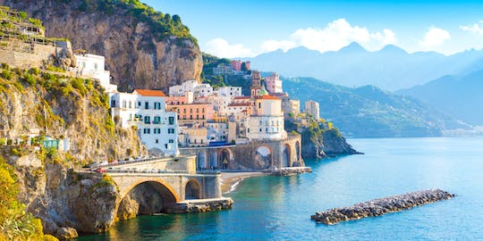 Ravello, Amalfi and Positano full-day tour from Salerno