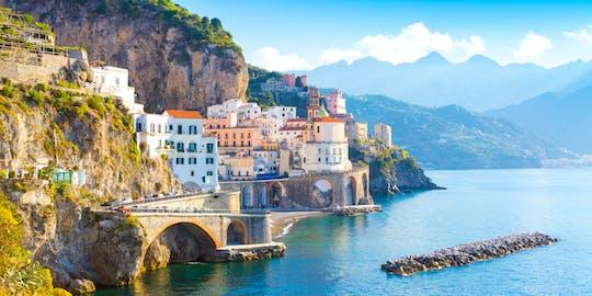 Tour de día completo a Ravello, Amalfi y Positano desde Salerno