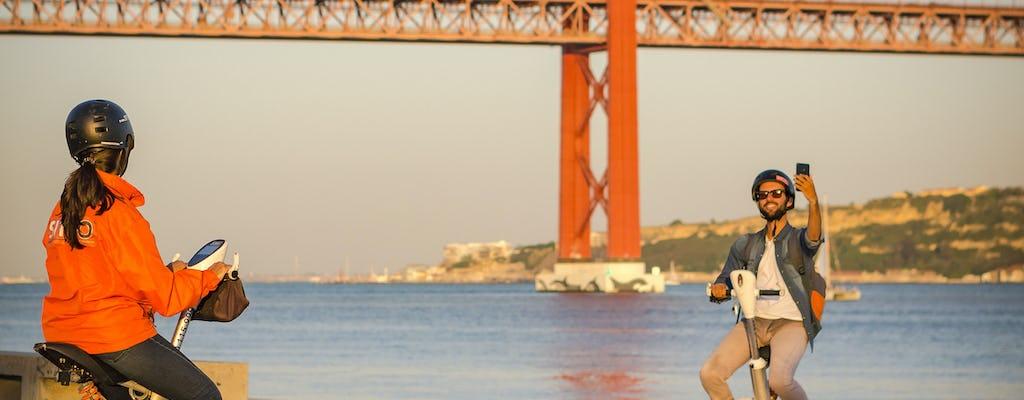 Tour di Lisbona Sitway con giro in barca al tramonto