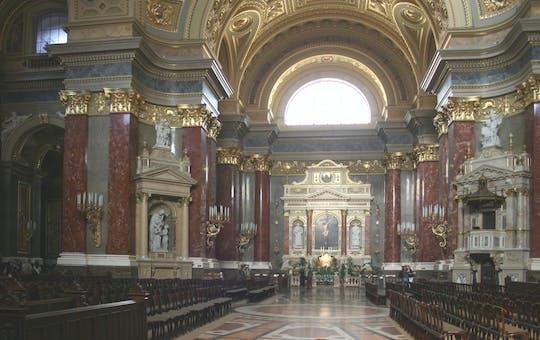 Ingresso escoltado sem filas para a Basílica de Santo Estêvão em Budapeste
