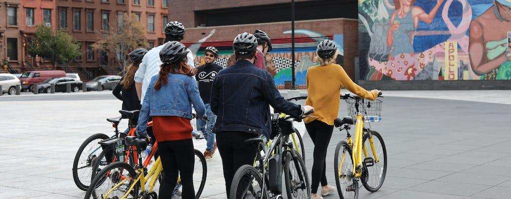 Tour guiado en bicicleta por Central Park y Harlem
