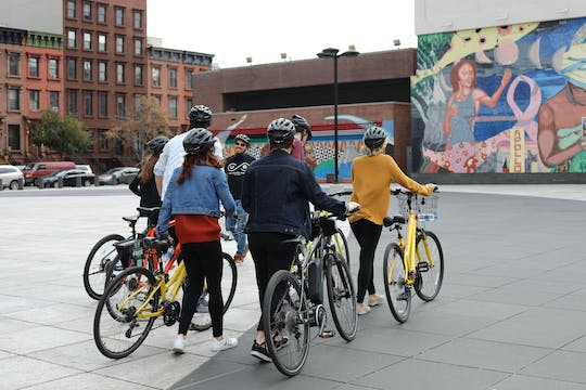 Central Park and Harlem guided bike tour