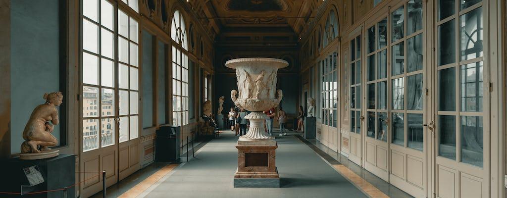 Toegangskaartje voor Uffizi en open bustour door Florence