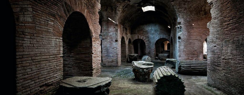 Visita guiada às construções da Roma Antiga de Pozzuoli